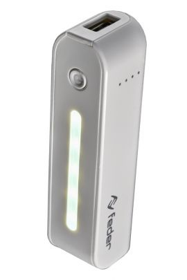 "PowerBank ""Handle"" 3200 mA/h con Torcia LED"