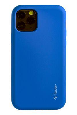 Liquid Silicone-azzurro-Apple-Apple iPhone 11 Pro