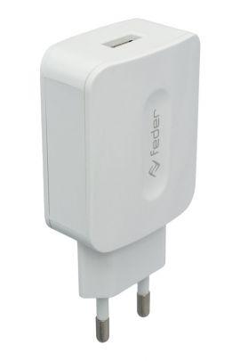 """Caricabatteria da rete 1 USB 2100 mA/h """"Vigor 2.0"""""""